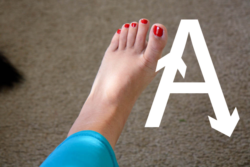 foot alphabet excercise-stayreading