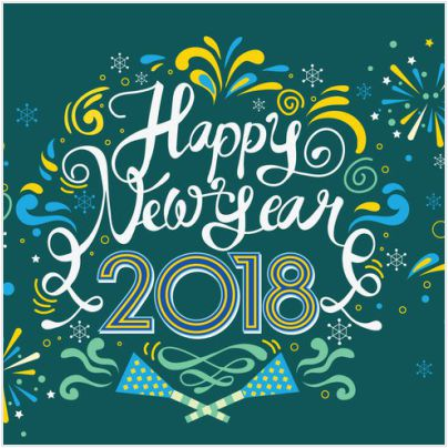 English New Year Wishes Sms for Whatsapp 2018 !