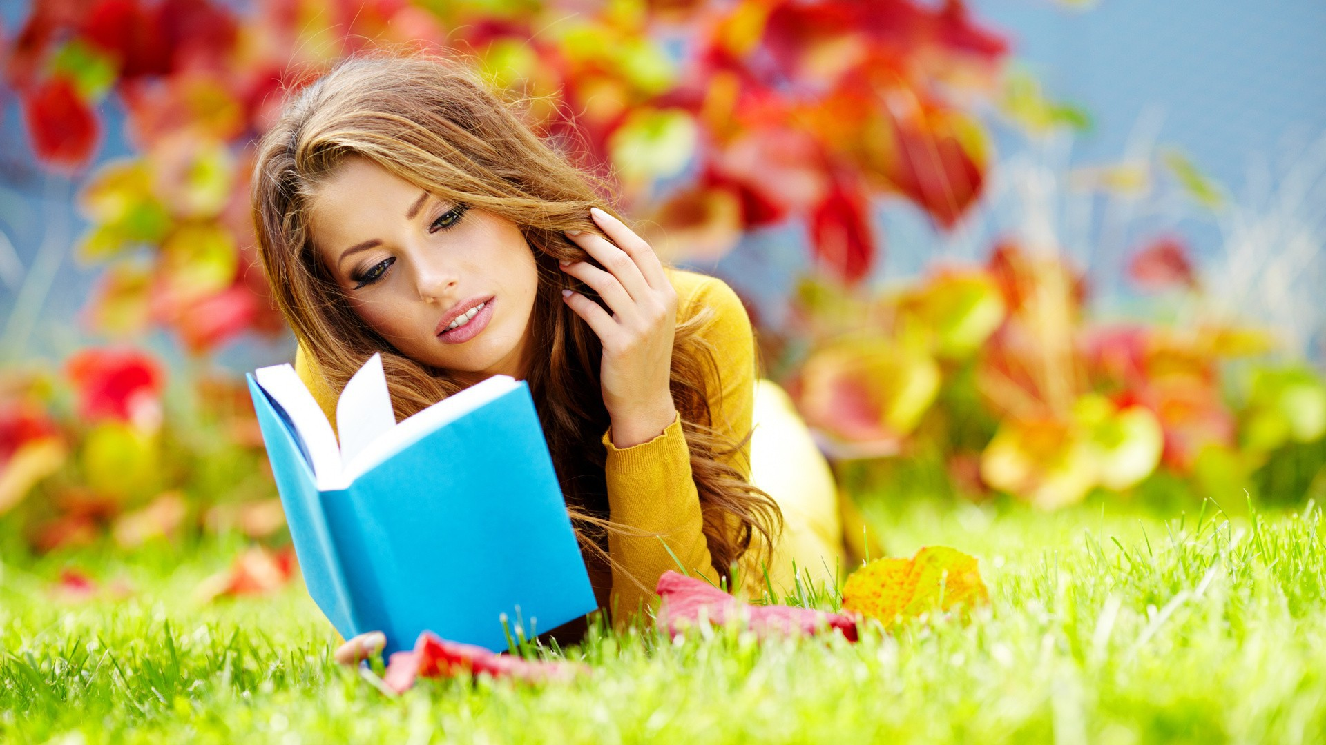 girl read book-stayreading
