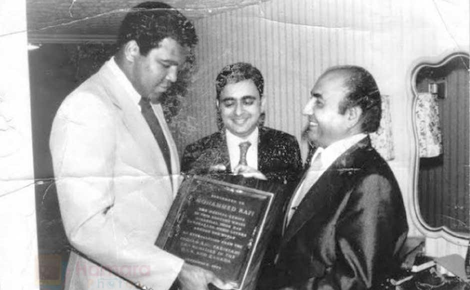 Mohd Rafi with Muhammad Ali shown to user 34610