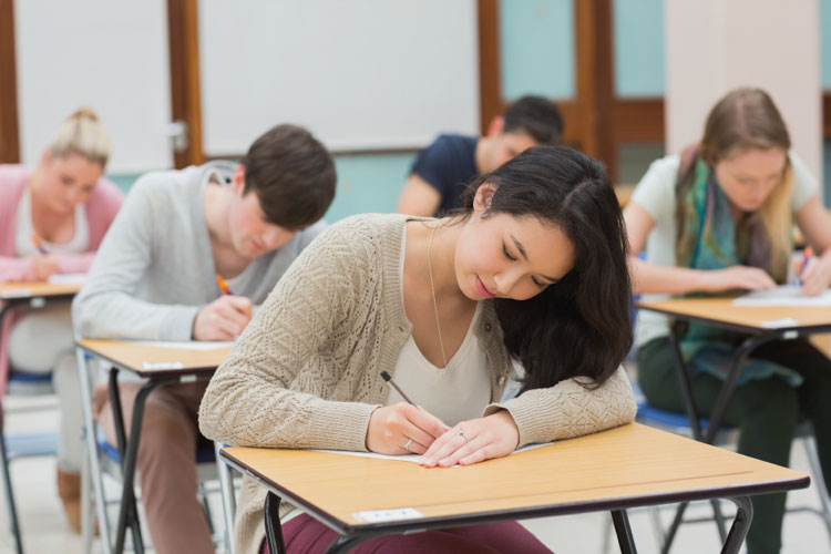 student in exam-stayreading